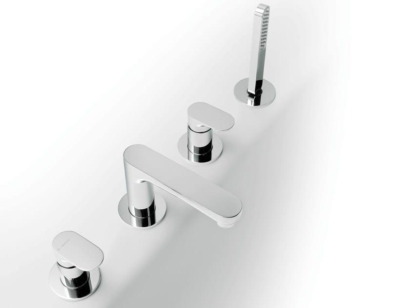 Bathtub set with diverter with hand shower LINFA | Bathtub set by newform