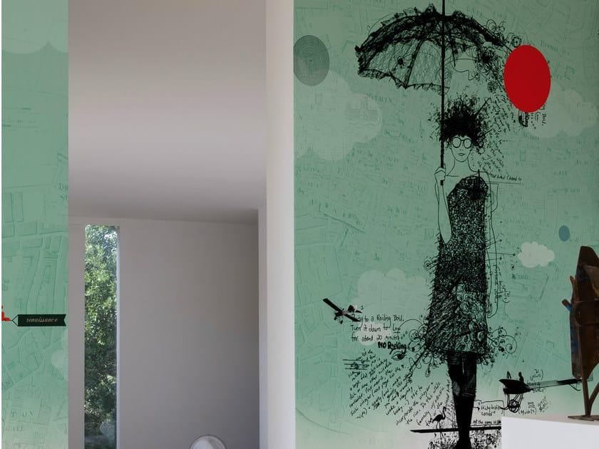 Design wallpaper SARAH by Wall&decò