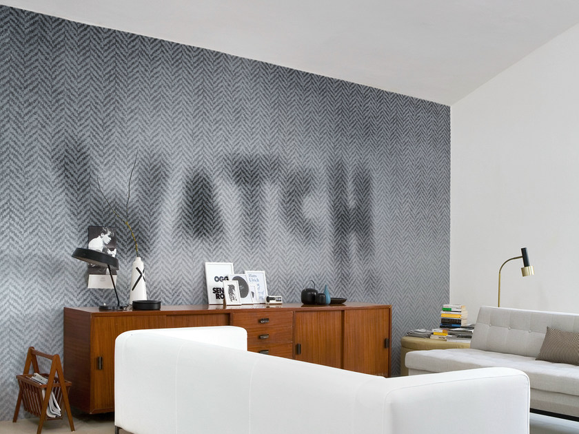 Geometric writing WATCH - Wall&decò