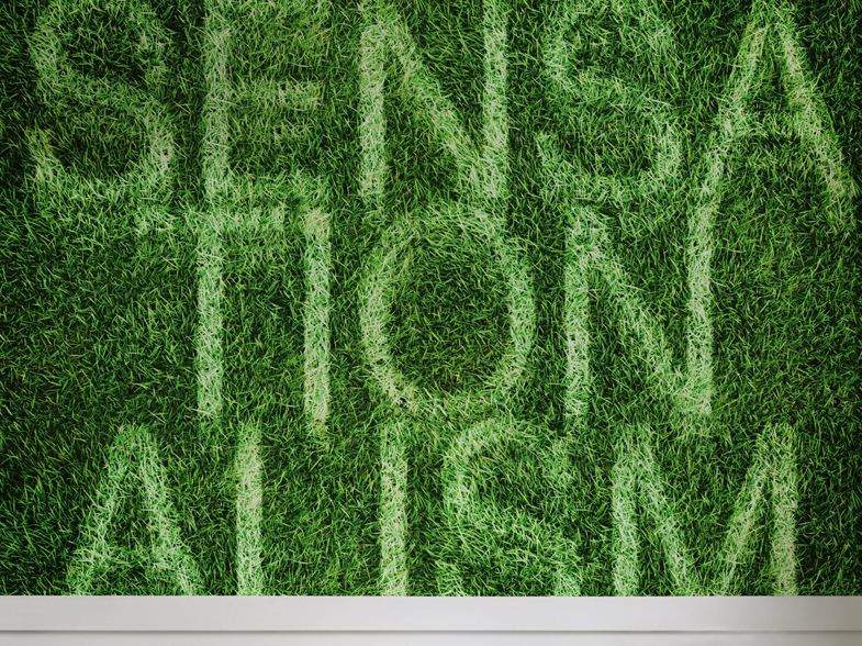Writing SENSATIONALISM by Wall&decò