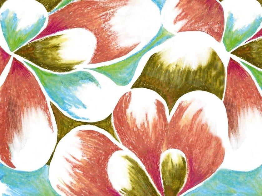 With floral pattern DIE BLAUE REITER - Wall&decò