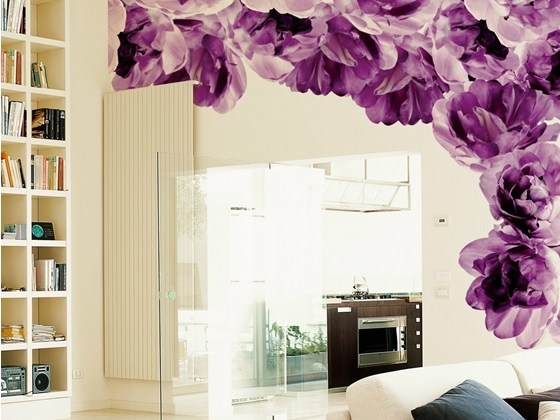 With floral pattern ARMONIC ENTROPY by Wall&decò