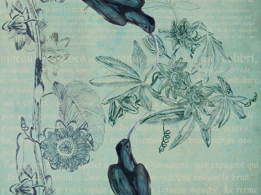 With floral pattern HAIKU - Wall&decò