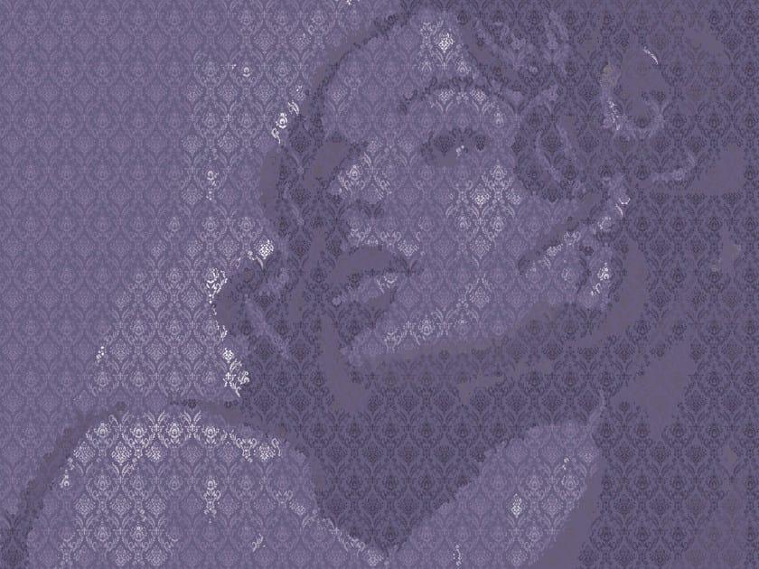 Motif geometric wallpaper ONE OF MY TURNS - Wall&decò