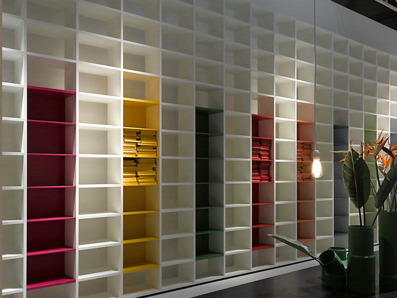 Sectional bookcase SYSTEM by Porro