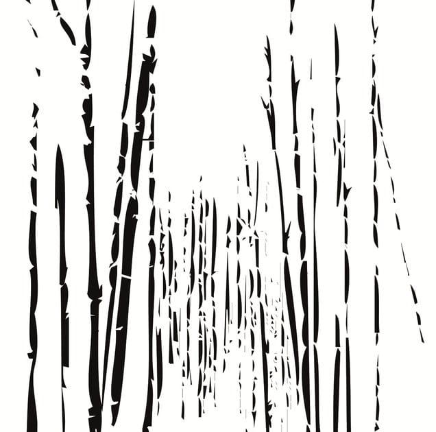 Wallpaper strip BAMBOO - Wall&decò
