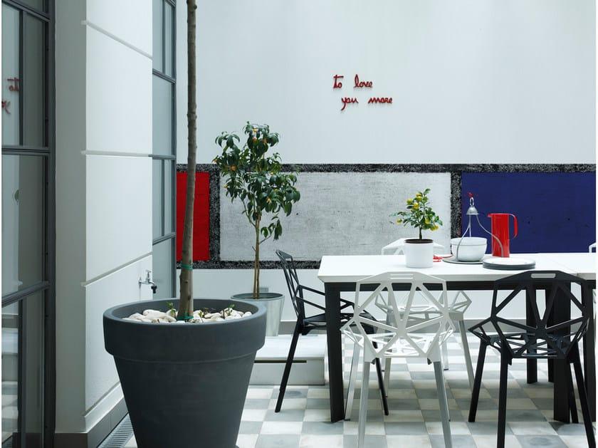 Check outdoor wallpaper DE STIJL - Wall&decò