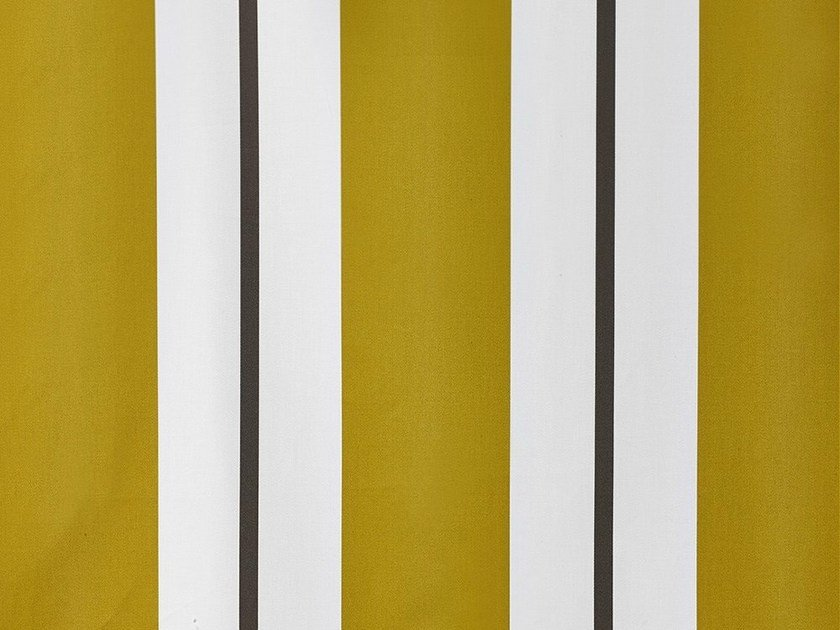 Striped washable cotton upholstery fabric STRIKE - Dedar