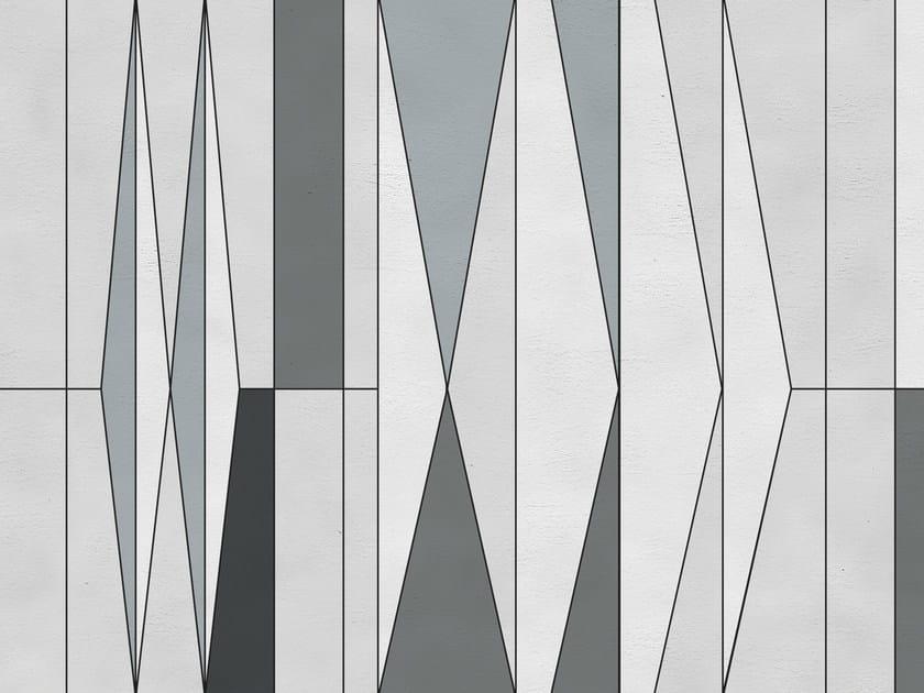 Geometric outdoor wallpaper GIO - Wall&decò