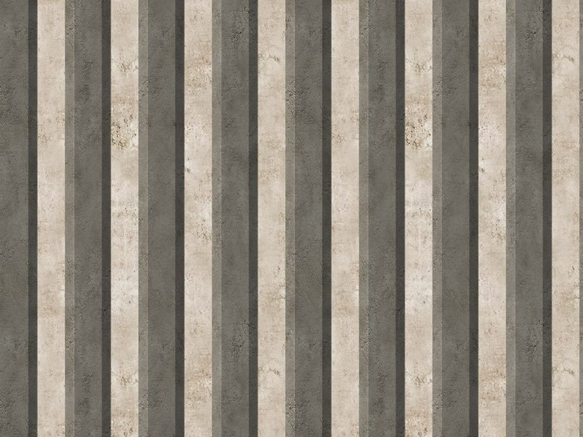Striped outdoor wallpaper PARALLEL - Wall&decò