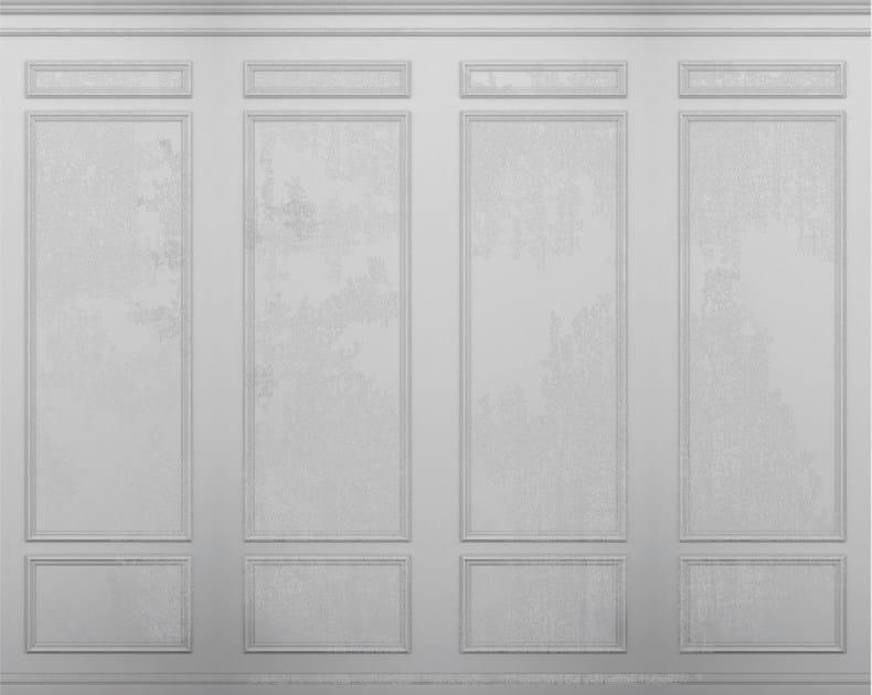 carta da parati effetto legno trompe l 39 oeil per bagno le. Black Bedroom Furniture Sets. Home Design Ideas