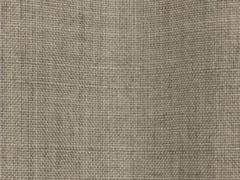 Solid-color fire retardant high resistance Trevira® CS fabric LINDON by Dedar