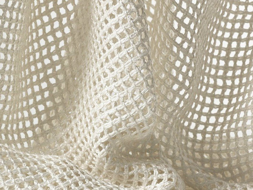 Mesh sheer fabric for curtains TRESSAGE - Dedar