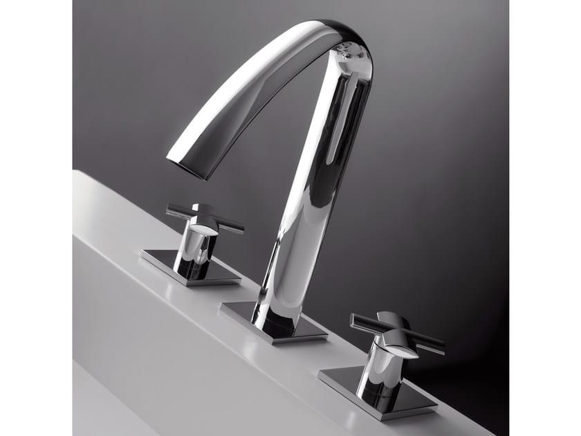 3 hole washbasin tap NOOX | 3 hole washbasin tap - ZAZZERI
