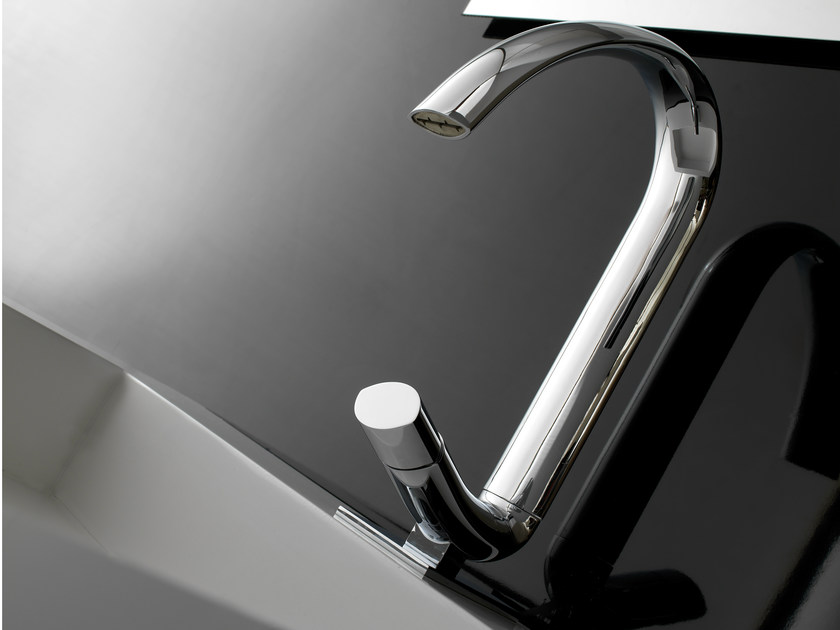 Single handle 1 hole washbasin mixer NOOX | Washbasin mixer - ZAZZERI