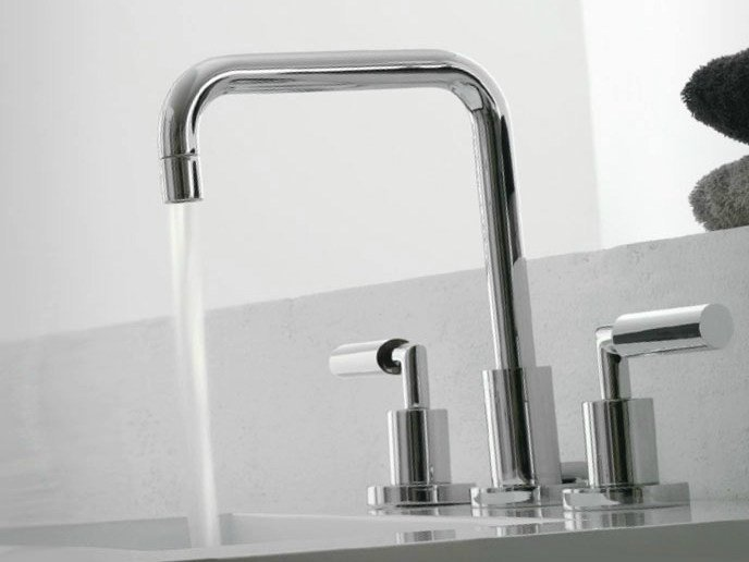 3 hole countertop washbasin tap DA-DA | 3 hole washbasin tap - ZAZZERI
