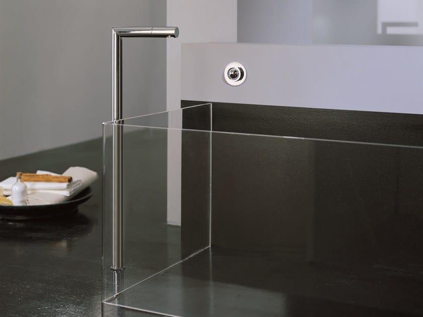 Floor standing bathtub mixer Z-POINT | Floor standing bathtub mixer - ZAZZERI