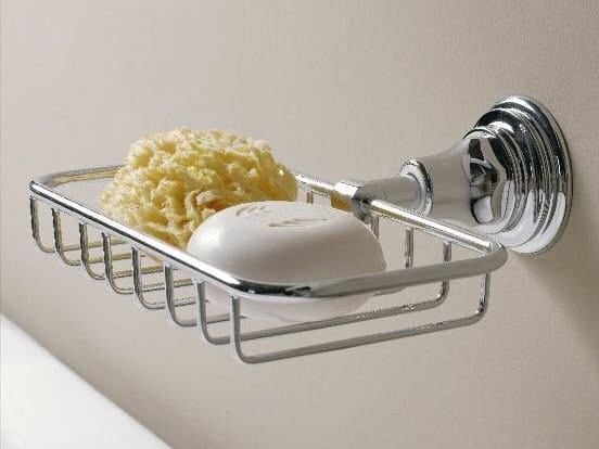 Wall-mounted soap dish KENT | Soap dish - ZAZZERI