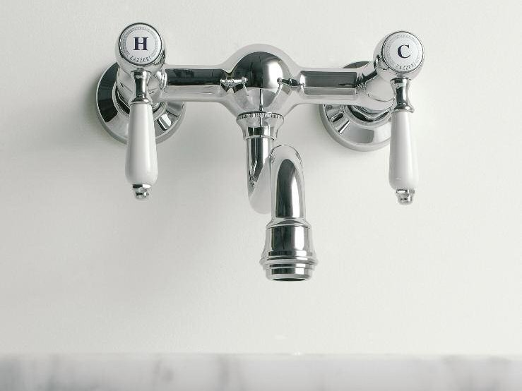 2 hole wall-mounted kitchen tap KENT | Kitchen tap - ZAZZERI