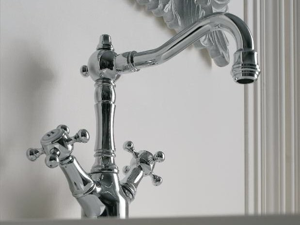 Classic style washbasin tap KENT   1 hole washbasin tap - ZAZZERI
