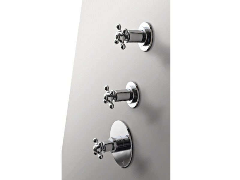 3 hole shower tap 800 | 3 hole shower tap - ZAZZERI