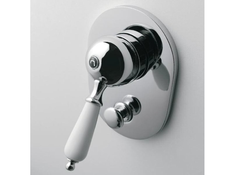 Single handle 1 hole shower mixer 800 | Shower mixer - ZAZZERI