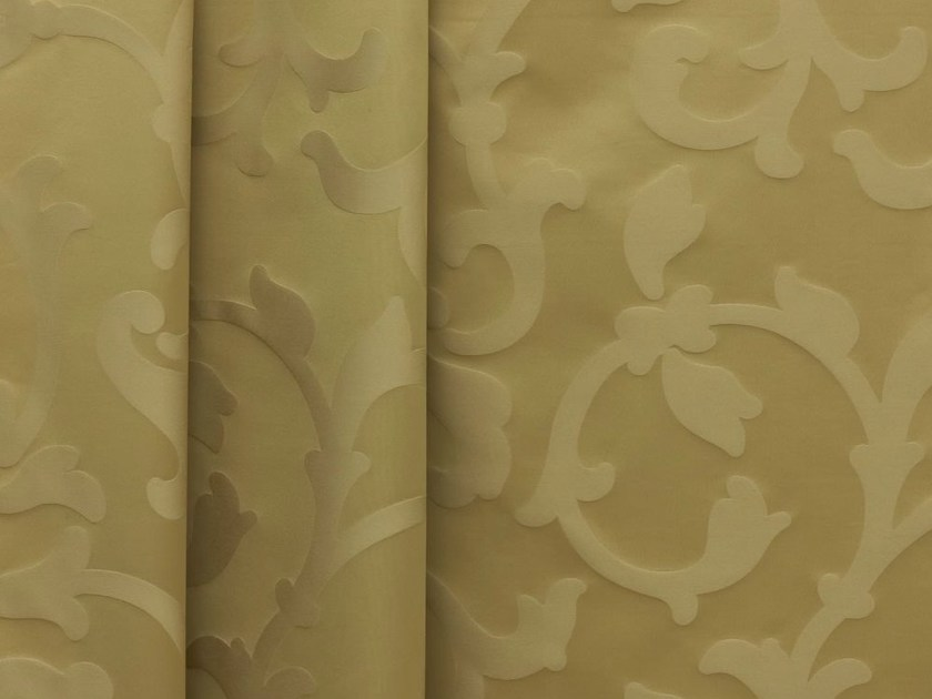 Fire retardant high resistance Trevira® CS fabric with floral pattern FLORAL - Dedar