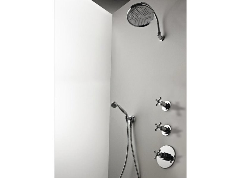 Thermostatic built-in shower panel MILLE | Thermostatic shower panel - ZAZZERI