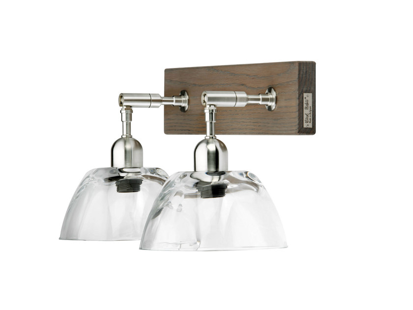 Direct light glass wall lamp KT1024 - Hind Rabii