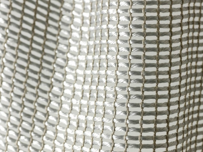 Sheer polyester fabric for curtains ARAMIS - Dedar