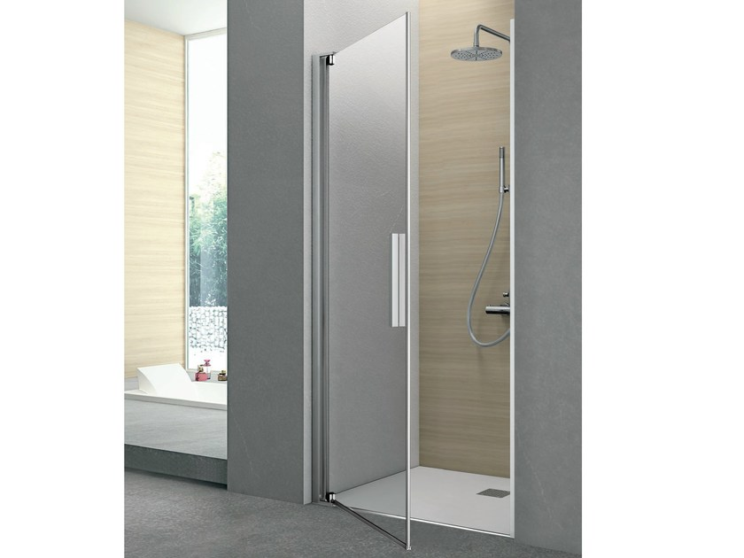 Shower cabin with pivot door PIVOT | Niche shower cabin - GRUPPO GEROMIN