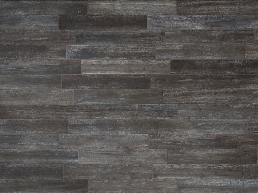 Indoor/outdoor porcelain stoneware wall/floor tiles with wood effect LISTONE D Vulcano by Italgraniti