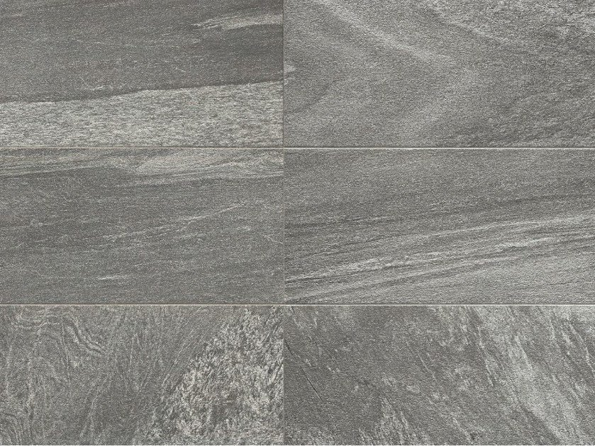 Indoor/outdoor porcelain stoneware wall/floor tiles with stone effect MINERAL D Galena by Italgraniti