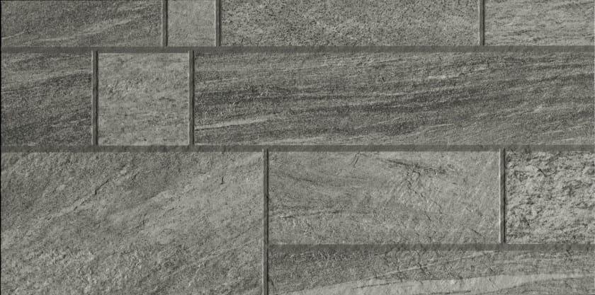 Pavimento rivestimento in gres porcellanato effetto pietra - Pietra decorativa per interni ...
