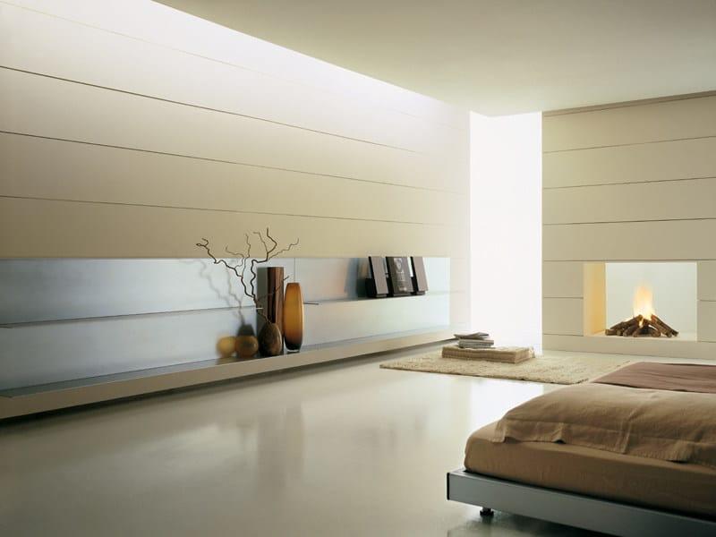 Parete attrezzata all collezione all by emmebi design for Mensole in alluminio