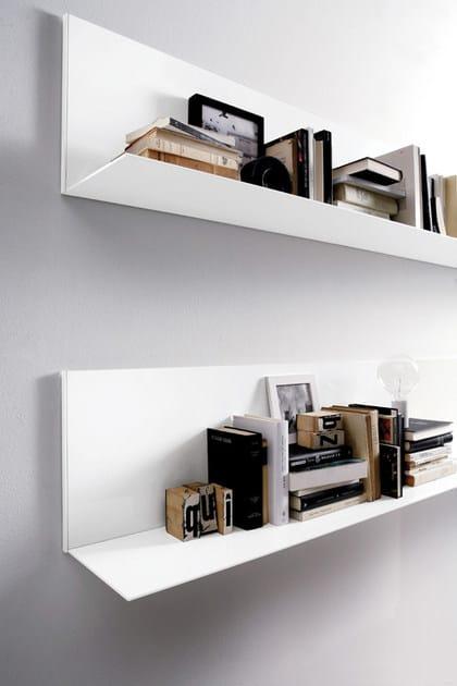 Libreria a giorno componibile in alluminio all emmebi for Mensole ufficio