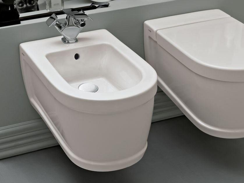 Opera tondo bidet sospeso by ceramica cielo design paolo d for Architec bidet sospeso