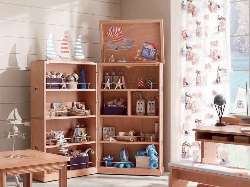 Wooden toy storage box 618 | TREASURE CHEST - Caroti