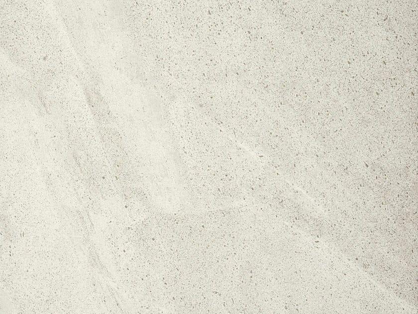 Full-body porcelain stoneware wall/floor tiles with stone effect NATURAL STONE Brera Bianca - Italgraniti
