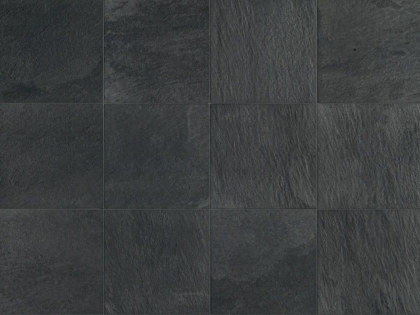 Full-body porcelain stoneware wall/floor tiles with stone effect STONE D Quarzite Grafite - Italgraniti