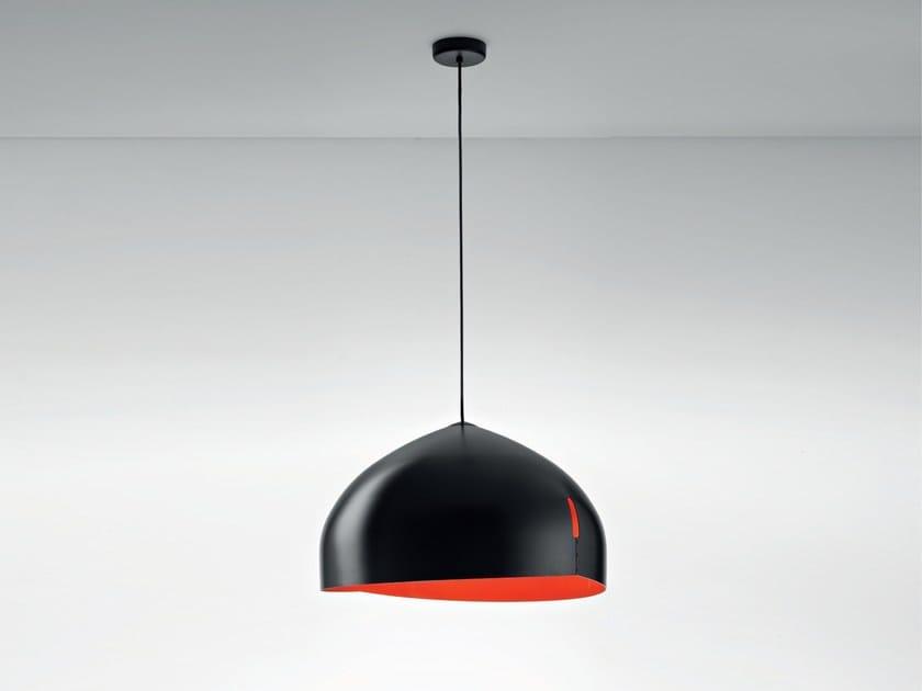 Aluminium pendant lamp ORU F25 A03 - Fabbian