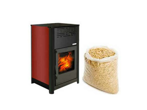 Pellet stove for water heating CIRCE - Rossato Group