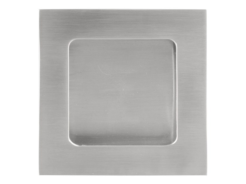 Recessed stainless steel Furniture Handle SQUARE | Recessed Furniture Handle by Formani