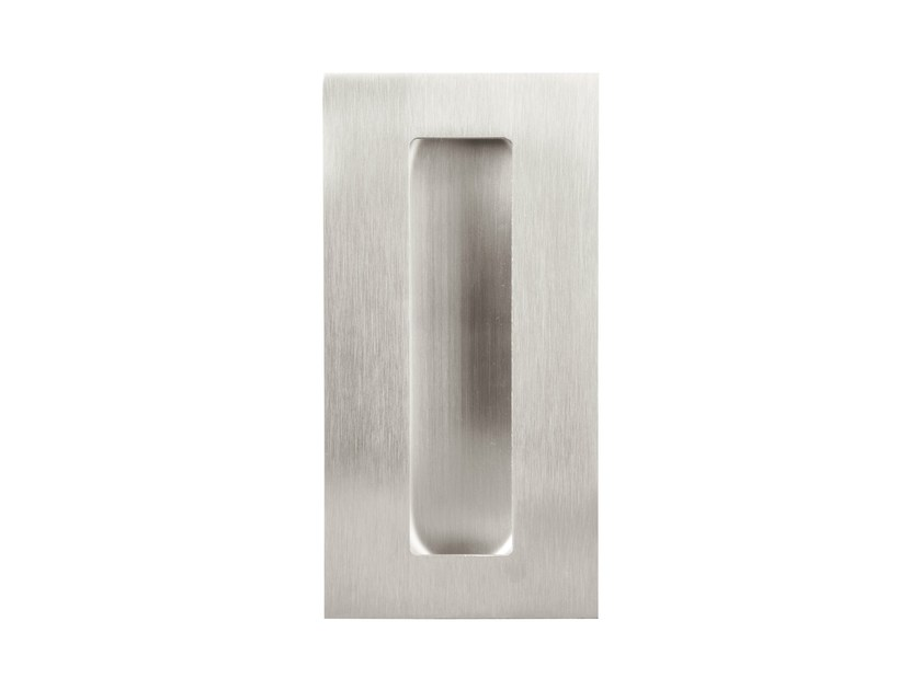 Recessed stainless steel Furniture Handle SQUARE | Recessed Furniture Handle - Formani Holland B.V.