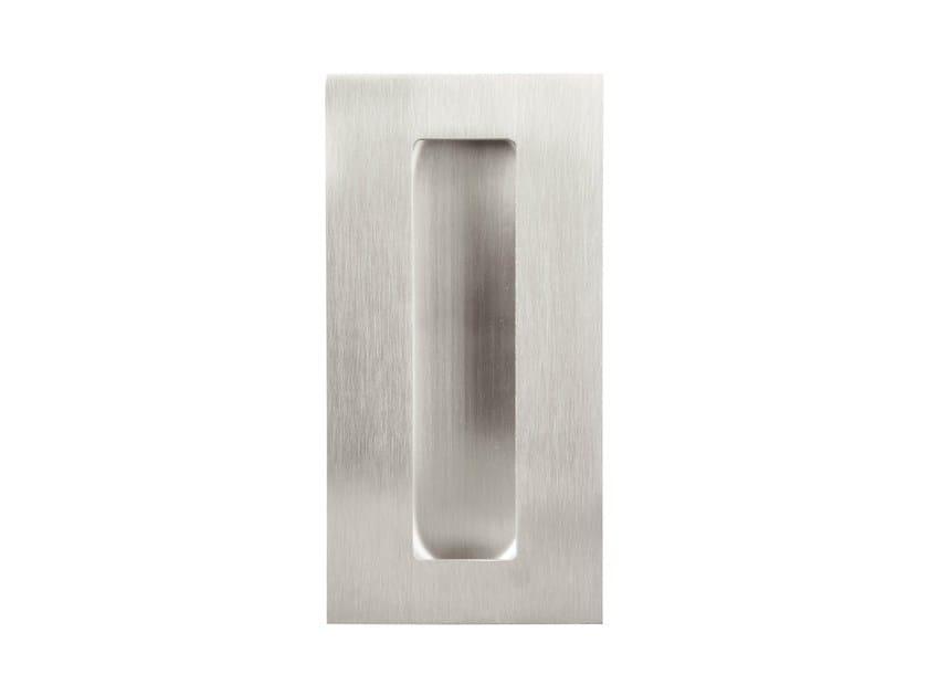 Maniglia per mobili in acciaio inox ad incasso square maniglia per mobili ad incasso formani - Mobili in acciaio ...