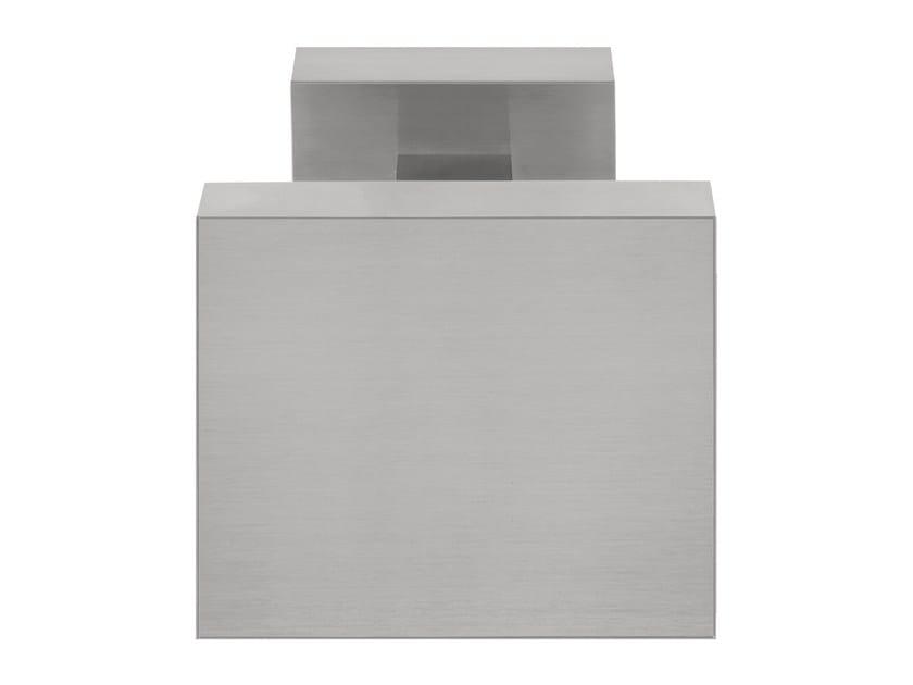 Stainless steel door knob SQUARE | Door knob - Formani Holland B.V.
