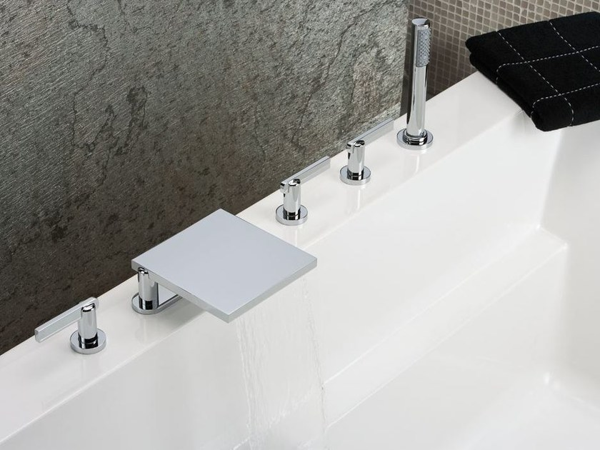 5 hole bathtub tap LE 11 BY ALBERTO PINTO | Bathtub tap - INTERCONTACT