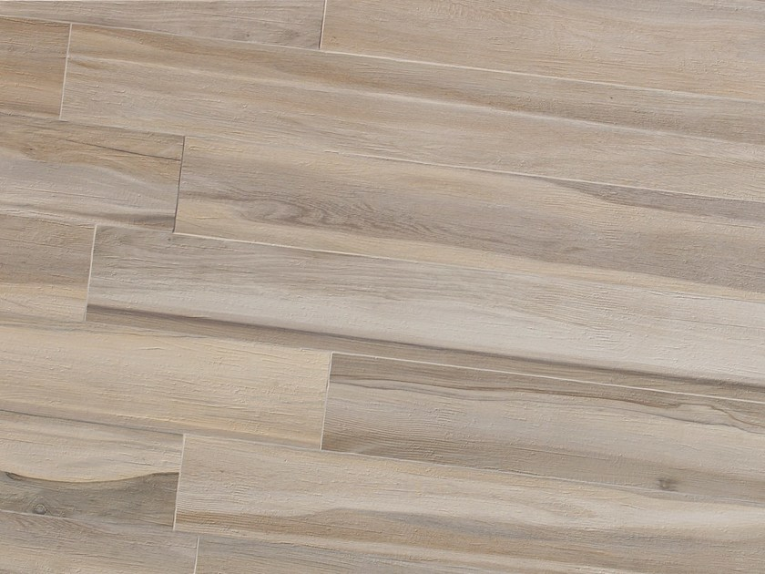 Porcelain stoneware flooring with wood effect MAXIWOOD Betulla Avorio by Italgraniti