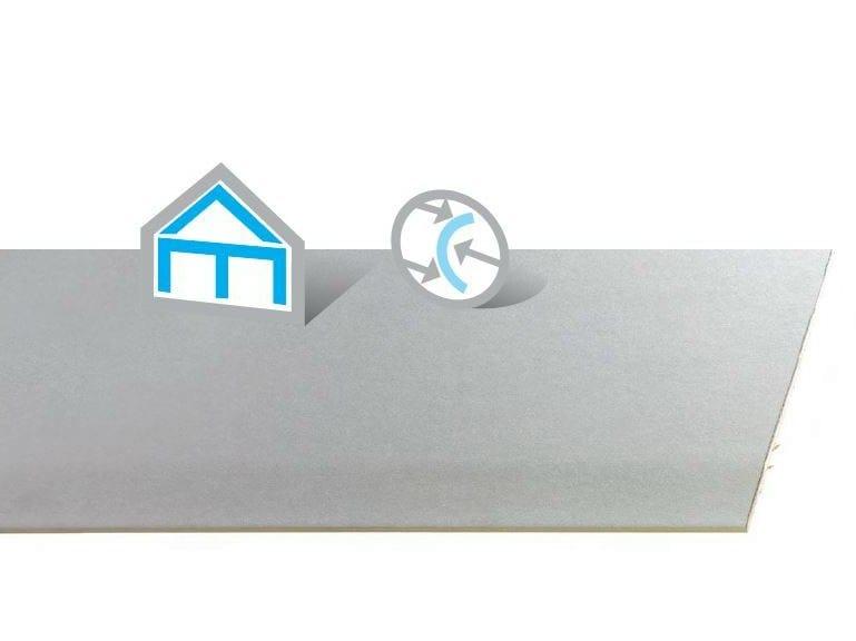 Gypsum plasterboard FLEX by Saint-Gobain Gyproc