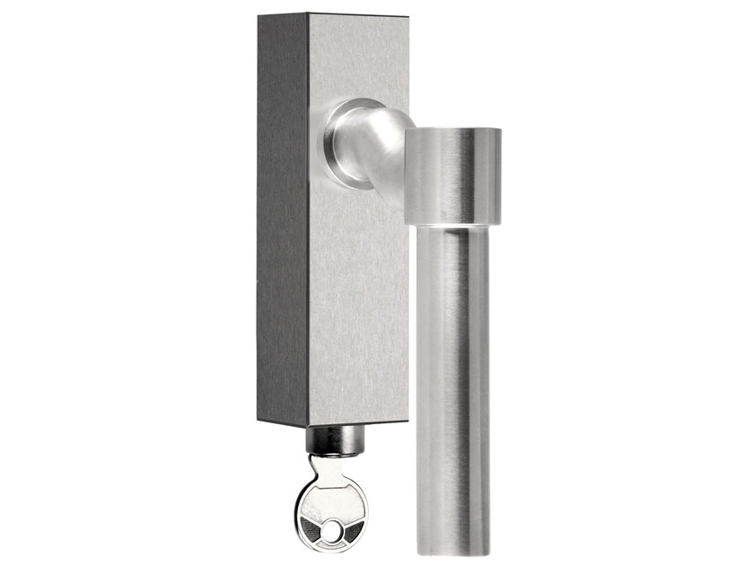 DK stainless steel window handle with lock ONE | Window handle with lock - Formani Holland B.V.